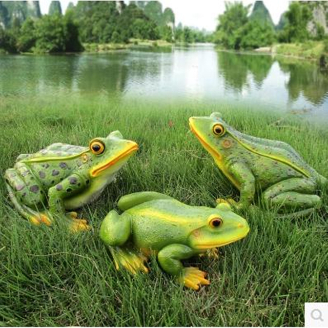 Frog Statue Arts And Crafts, Garden Decorations, Creative Home Decoration  Products