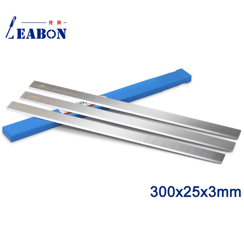 LEABON 300x25x3mm China Wholesale HSS Planer Blade for Woodworking Machine (A01003014)
