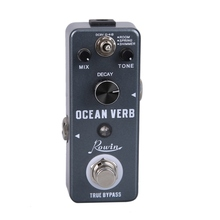 Rowin Electric Guitar Effect Pedal Ture Bypass Gray High Quality Guitar Effect Pedal Guitar Part Accessories Promotion