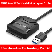 High Quality USB3.0 to 2.5″ 3.5″ SATA Hard Disk Adapter Power Cable Support Desktop / laptop hard disk 50CM