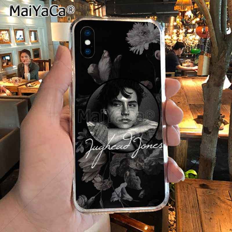 MaiYaCa tv riverdale Jughead Jones Luxury TPU Rubber Phone Case cover for iPhone 8 7 6 6S Plus X XR XS MAX 5S SEcase shell