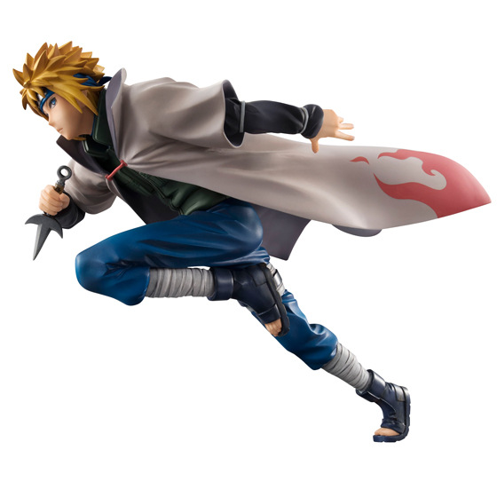 NEW hot 20cm naruto Namikaze Minato Action figure Combat version toys collection doll Christmas gift no box new hot 18cm naruto hyuga hinata hinata hyuga combat version action figure toys collection christmas gift doll