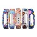 XCSOURCE 5pcs Flower Pattern Replacement WristBand Wrist Strap for Xiaomi Mi 2 Brand Millet Smart Bracelet TH475+
