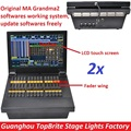 2xLot MA onPC fader wing with Touch Screen Professional DMX console offers 2,048 parameters Grandma2 Software onPC Command Wing