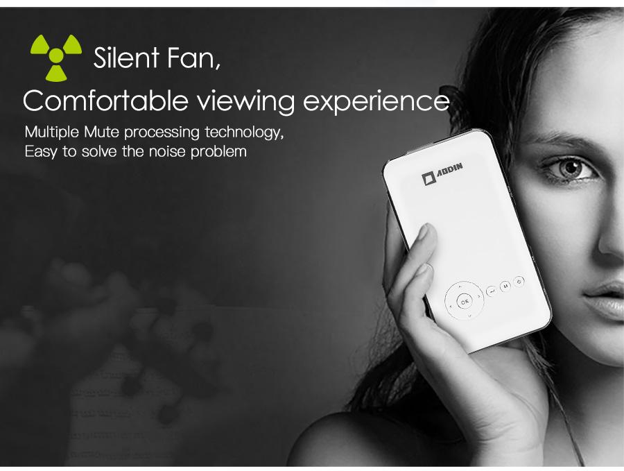 AODIAN AODIN 3D HD Mini projector DLP support 1080P video 8G pico pocket projector for home theater HDMI smart led portable projectors-19