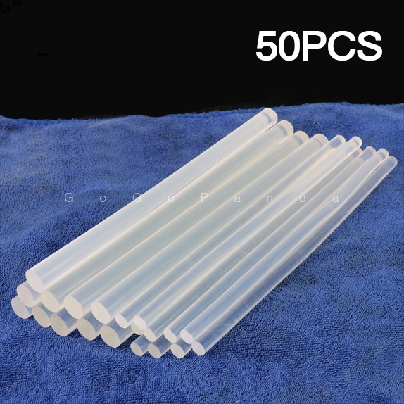 GOGOPANDA (50pcs/lot) 190mm Adhesive Craft Sticks Desinger Power Tool Non-Toxic Hot Melt Glue Sticks