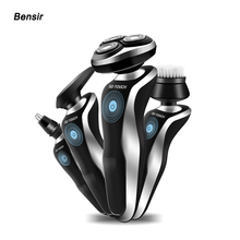 Bensir 5D Electric Shaver Men Machine Nose and Hair Trimmer