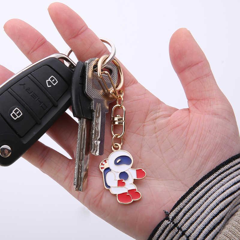 Gwwfs Mini Car Keychain Jewellery Couple Keychain Gifts For Men And Women Fashion Rabbit Key Ring Carrot Shiba Inu Dog 2019 New