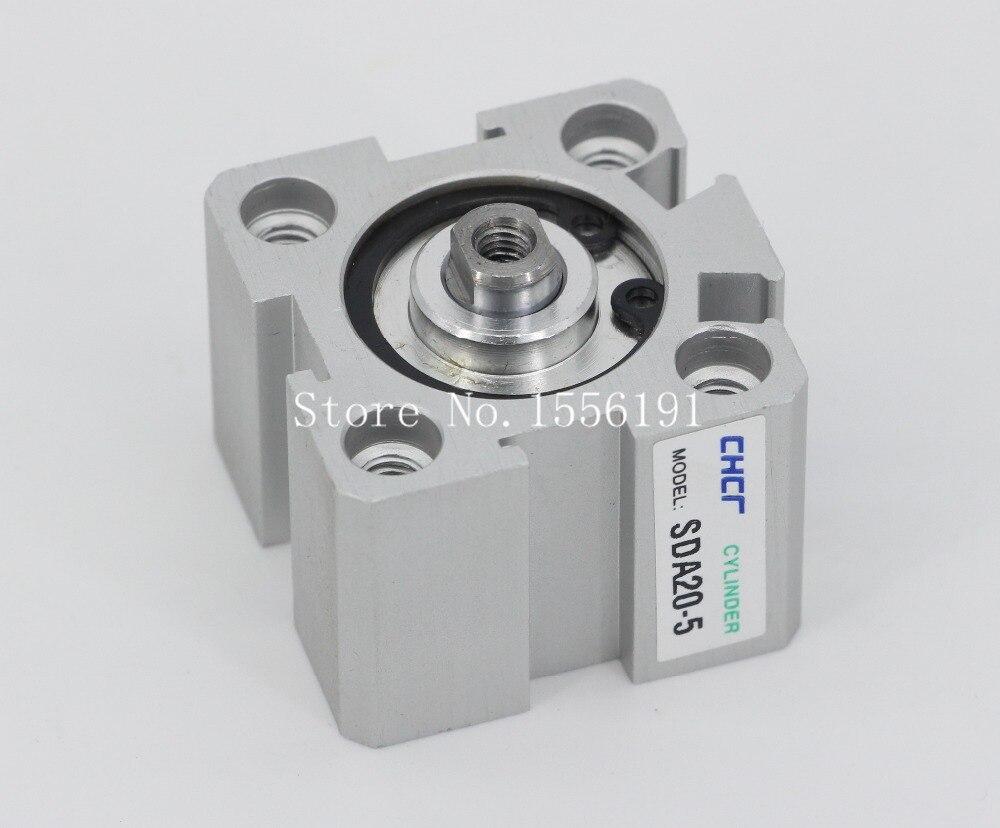 Sda20 * 40 Airtac tipo de liga de alumínio cilindro, Novo 20 mm diâmetro 40 mm curso SDA