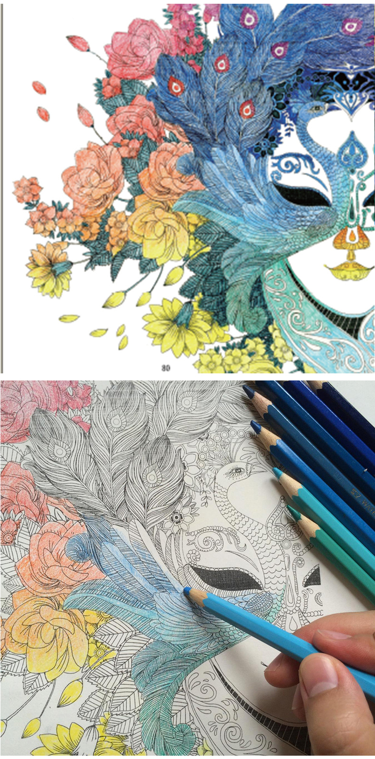 Chinese Adult coloring Children 7