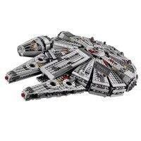 1381Pcs OLEKU Millennium Falcon Star Wars Set Bricks Models Building Blocks Toys For Children Legoing Starwars