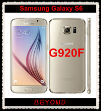 "Samsung galaxy s6 g920f original desbloqueado 4g gsm android teléfono móvil octa core 5.1 ""16mp 32 gb dropshipping"