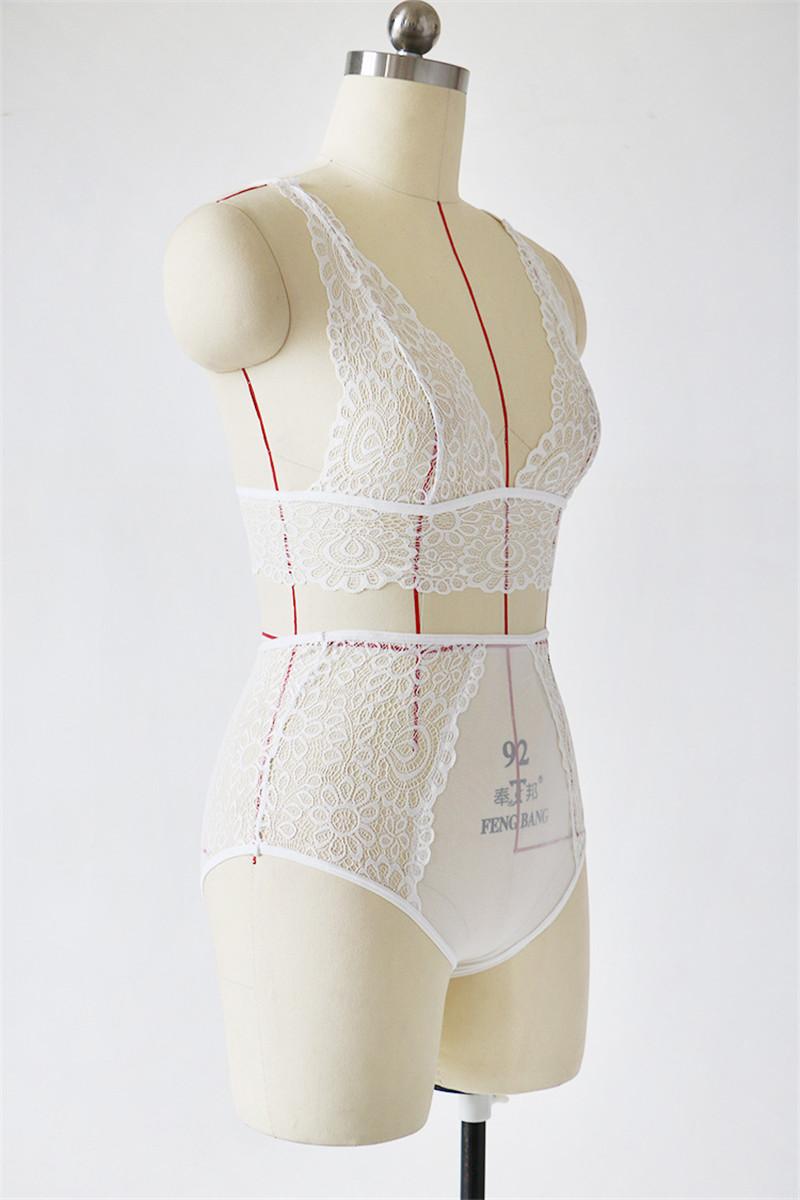 HTB1IQlLXM3pLuJjSZFPq6xWtXXaA - Women Sexy Floral Lace Brallate Sets JKP179