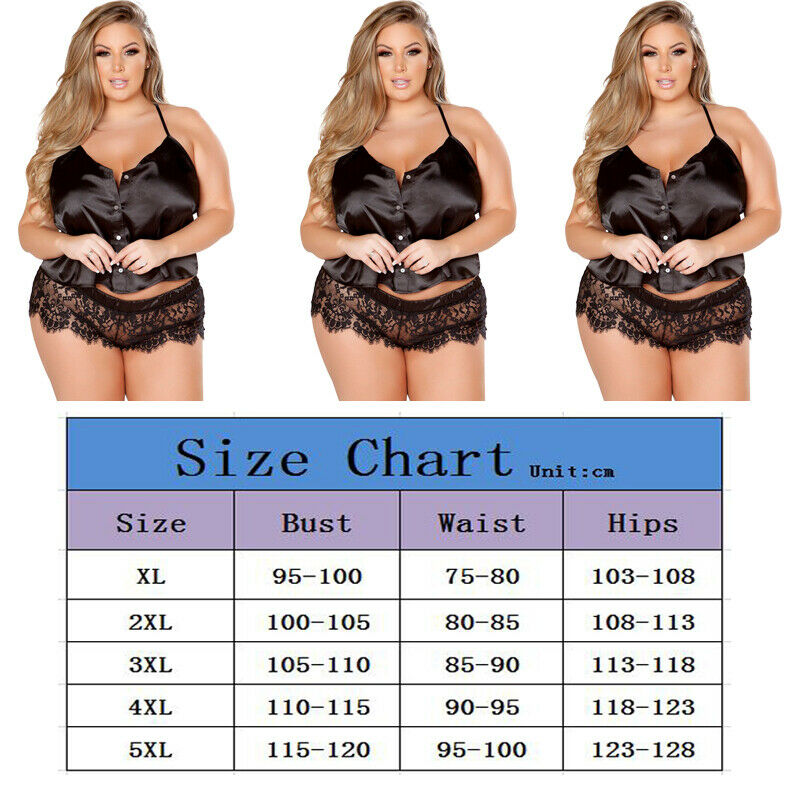 Women Sexy Lingerie Eyelash Big Yards Babydoll Lace Underwear Suits Nightwear Ladies Solid Sexy Suits Women Sleep Wear Plus Size in Women 39 s Sets from Women 39 s Clothing
