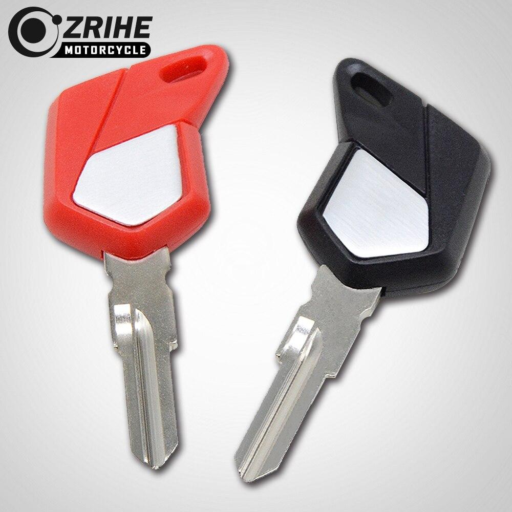 Motorcycle Accessories Keys Embryo Unlocked Blank Keying Click Uncut Blade Blanks Key Chip For MV Agusta F3 F4 1090 920 990