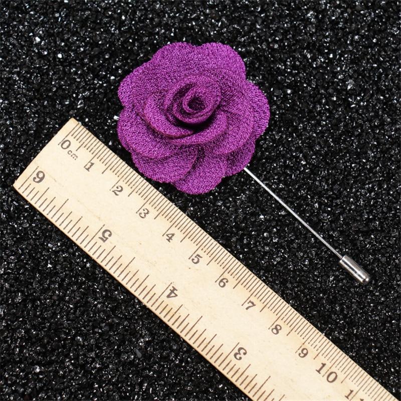 Brooch Flower Lapel Pin 18 Colour Կանանց Տղամարդկանց - Նորաձև զարդեր - Լուսանկար 4