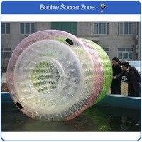 Бесплатная доставка 2,4*2,2 м надувные ролики водяной цилиндр надувной шар для ходьбы по воде надувной валик для плавания мяч ПВХ водные виды с