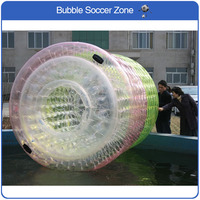 Free Shipping 2.4*2.2m Inflatable Rollers Water Roller Ball Water Walking Ball Inflatable Water Roller Ball PVC Water Sports