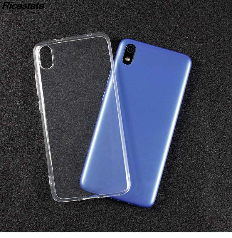 Xiaomi Redmi 7A Cực Ốp Lưng trong suốt cho Redmi7A Trong Suốt Silicone Mềm Điện Thoại TPU Da Ốp Lưng Dùng Cho Redmi 7A Ốp Lưng Trong Suốt