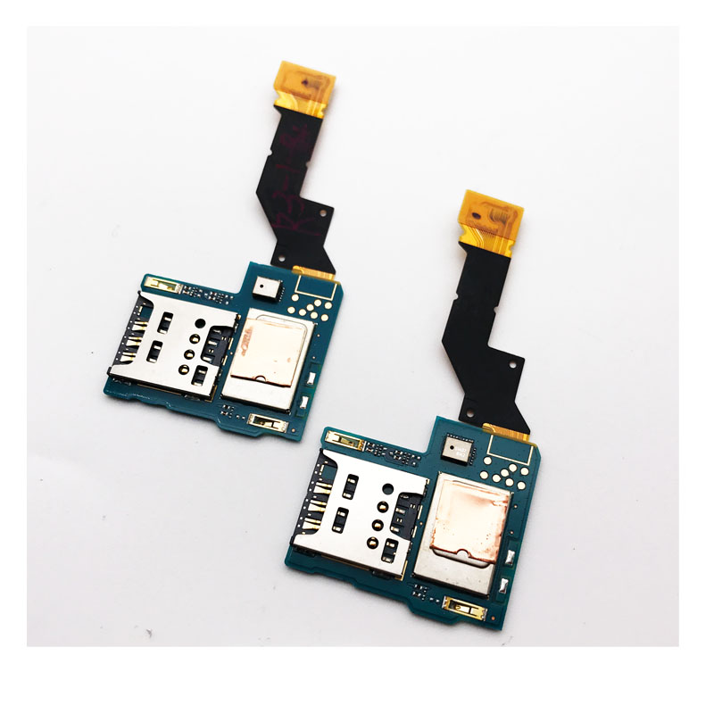 New SIM Card Reader Socket Holder Slot Board Flex Cable For Sony Xperia S LT26 LT26i Replacement Parts