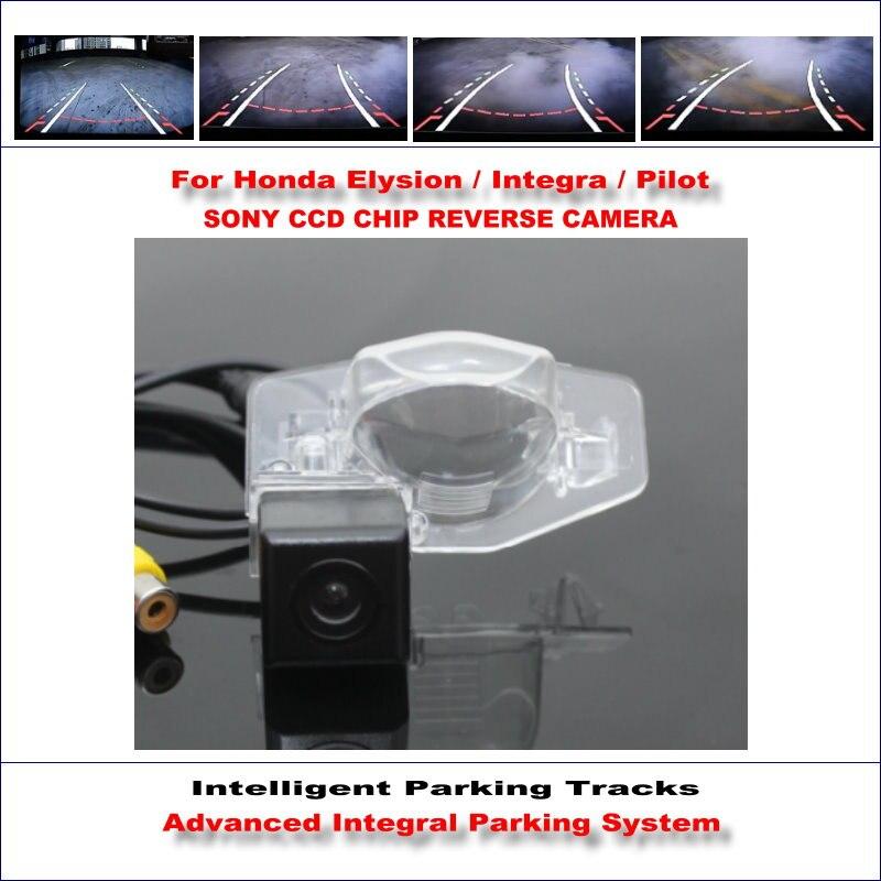 ФОТО 860 * 576 Pixels Back Up Camera For Honda Elysion / Integra / Pilot Rearview Parking / 580 TV Lines Dynamic Guidance Tragectory