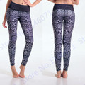 Snakeskin Running Leggings Printed Snake Scale Yoga Pants Women Grey Fitness Tights CompressionSkinny Pants Capris Butt Lift New