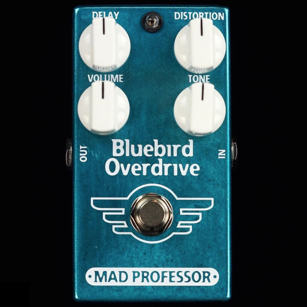 Mad Professor Bluebird Overdrive/Delay Guitar Distortion Echo Effects Pedal NEW (Facotry Made) totem bluebird