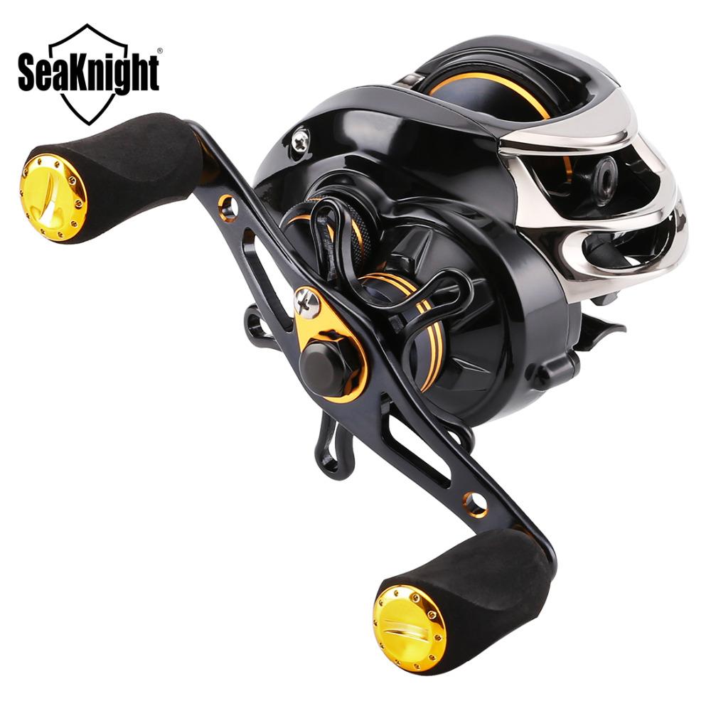 Prix pour Seaknight lycan 12bb baitcasting moulinet de pêche 7.0: 1 baitcasting bobine de pêche magnétique système de frein carbone max drag 5 kg/11lb