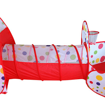 Kinder Große Pool-Rohr-Tipi Spielen Zelt Ozean Ball Pool Pit Zelt Haus Für Kinder Faltbare Spiel Spielen Haus Zimmer Geschenk Spielzeug Spielzeug