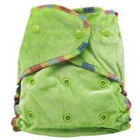 Bamboo Velour Fitted Cloth Diaper AI2 Free Size No Synthetic Material Soft Touch Baby S Skin