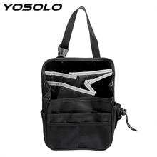 YOSOLO Oxford Multi Pockets Storage Hanging Bag Stowing Tidying Car Back Seat Organizer Interior Accessories