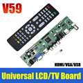 Levert Dropship Del  V59 Universal LCD TV Controller Driver Board PC/VGA/HDMI/USB Interface May09