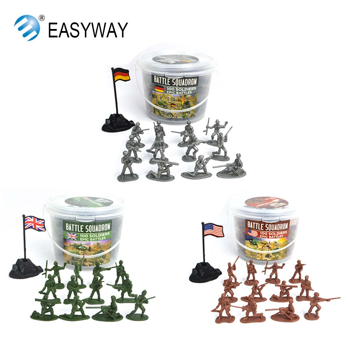 EASYWAY bottled 100pcs Plastic Soldier Figures Toys Games  12 models Classic Mini Plastic Military Soldier Action Figure Boy toyEASYWAY bottled 100pcs Plastic Soldier Figures Toys Games  12 models Classic Mini Plastic Military Soldier Action Figure Boy toy