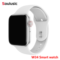 Soulusic W34 Bluetooth Call Smart Watch ECG Heart Rate Monitor Smartwatch Men Women for Android iPhone xiaomi band PK iwo8 4