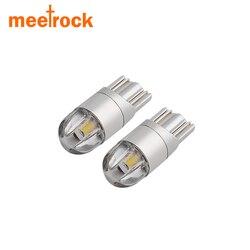 Meetrock 2 pièces T10 LED voiture lumière SMD 3030 marqueur lampe w5w 194 501 ampoule wedge parking dôme lumière auto voiture style 12 v 24 v