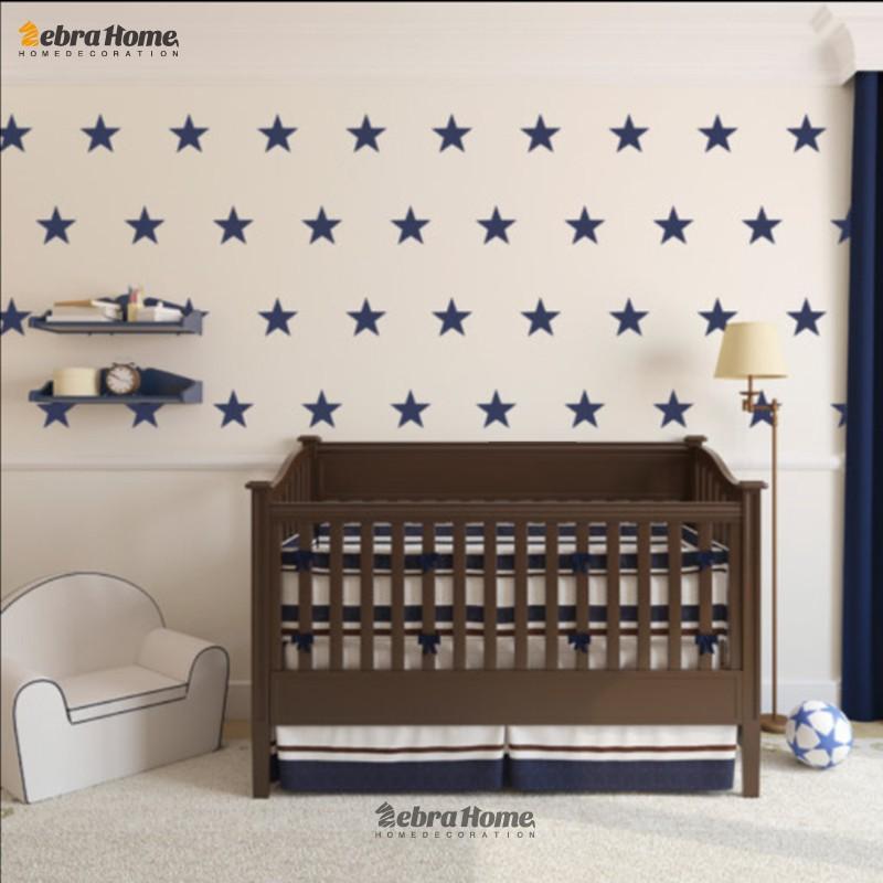 HTB1IQp3MFXXXXXhXFXXq6xXFXXXc - Custom Color Stars Wall Sticker DIY For Kids Rooms