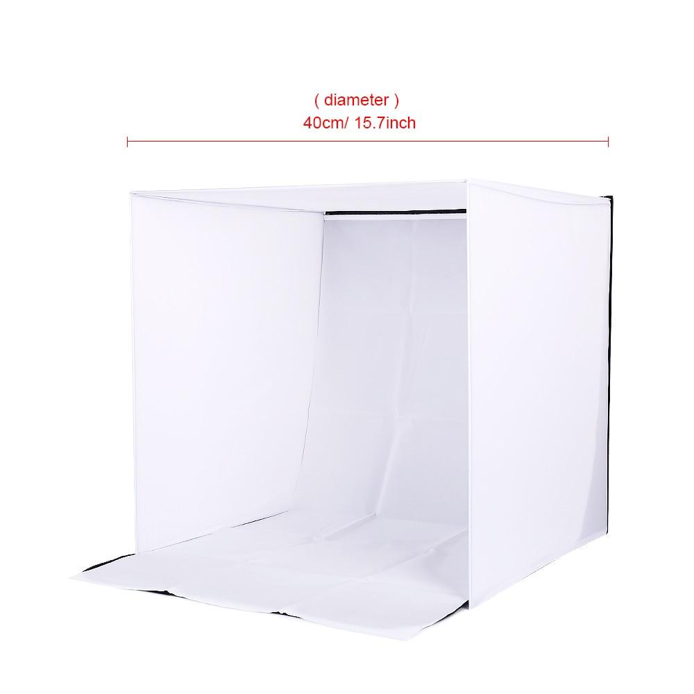 CY 40x40x40cm Φορητό γυαλιστερό στούντιο - Κάμερα και φωτογραφία - Φωτογραφία 2