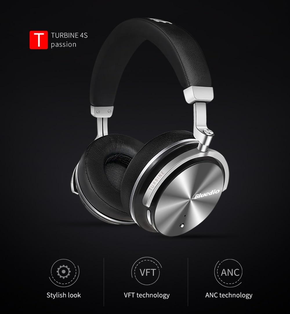 Headphone Bluedio T4S Bluetooth sem fio