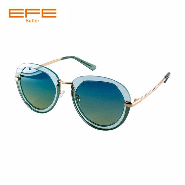 EFE Fashion Polarized Sunglasses For Women Classical Vingate Metal Frame Sun Glasses Female Women Lentes De Sol Mujer