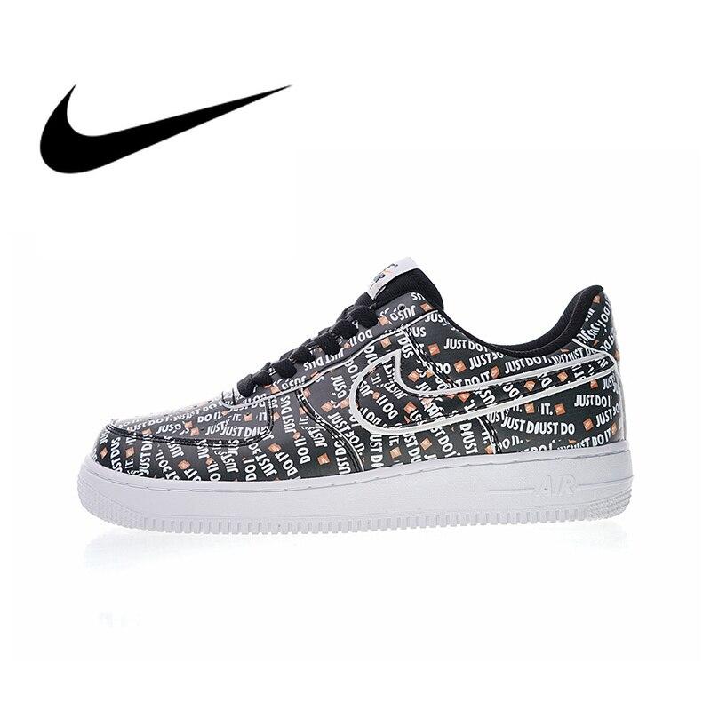 Nike Air Force 1 JDI PRM Juste Le Faire Hommes de chaussures pour skateboard Sneakers Sport En Plein Air De Marque De Sport 2018 nouveauté AO3977
