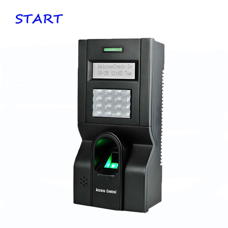 ZK F8 Fingerprint Access Control And Time Attendance TCP/IP RS232 and RS485 Finger Print Access control device Linux System