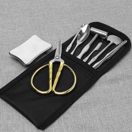 XMT-HOME Seafood tool crab cracker scissors fork shrimp peeler seafood set kitchen gadgets 1set