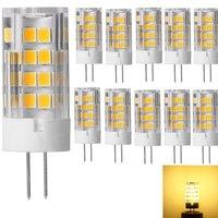 Ceramic model 220V super bright E14 screw led lamp pin, lamp bulb, G4G9 light bulb 12V