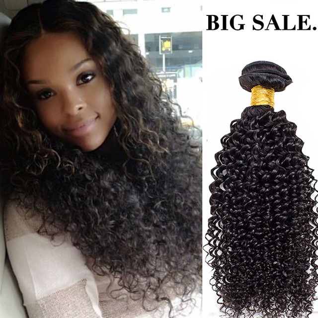Best Selling Afro Kinky Curly Hair Bundles 3pcslot 300g Blonde