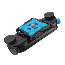 Aluminum Waist Belt Tripod Mount Clip Adapter DSLR Digital camera For GoPro HD Hero three+ four