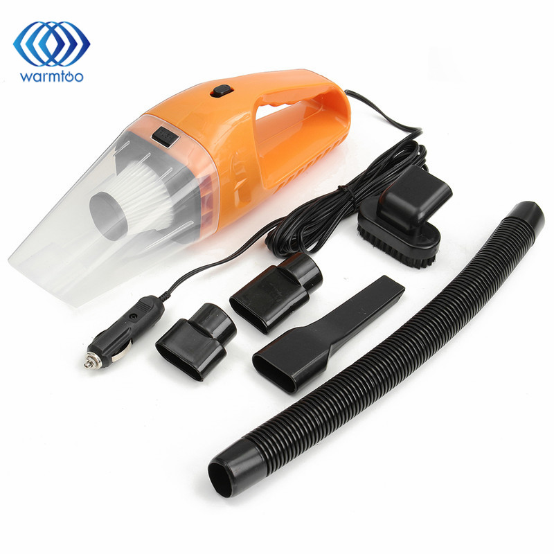 Portable 120W 12V Handheld Cyclonic Auto Car Vehicle Vacuum Cleaner Rechargeable Wet Dry Duster 12v 120w car vacuum cleaner wet and dry auto cleaning tool