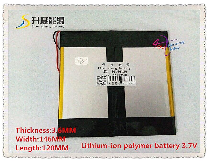 Handy 36146120 3,7 V 9900 Mah 35120145 Polymer Lithium-ion/li-ion Batterie Für Tablet Pc Gps Lautsprecher,
