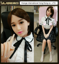 2016 NEW 165cm real silicone sex dolls,realistic solid poupee silicone love doll,Japanese real life soft doll sex for men,ST-194