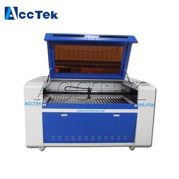 Jinan AccTek AKJ1390 bois verre mdf CNC denim jeans machine de gravure laser