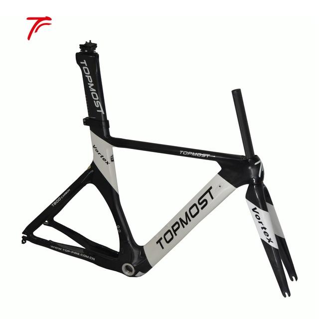Aliexpress.com : Buy carbon time trial bicycle frame 54cm TT bike ...